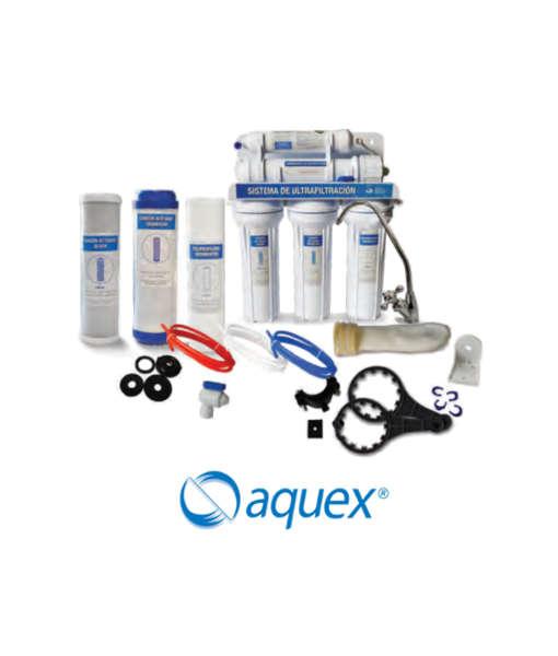 TOOGOO 5 Piezas//Conjunto Purificador de Agua de Ultrafiltraci/óN de 5 Etapas Equipo de Cartucho de Reemplazo de Filtro con Kit de Membrana Universal UF