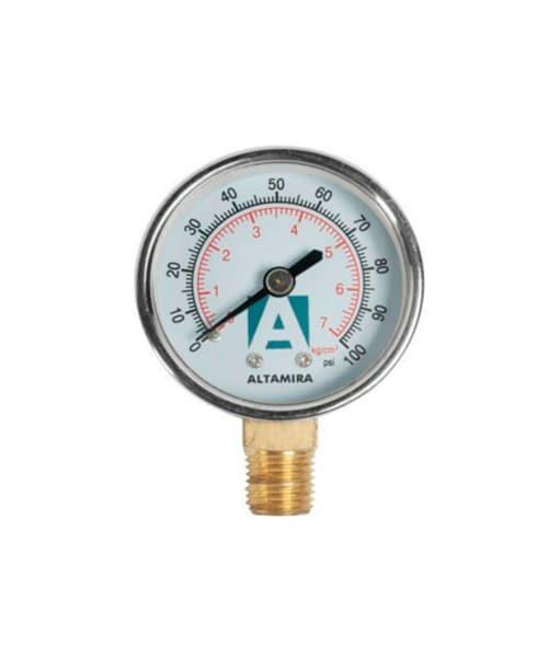 Manómetro Altamira seco de 0-100