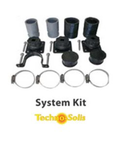 Kit para grupo de paneles Techno-Solis